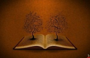 3d-trees-on-open-book-hd-wallpaper