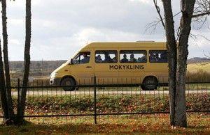 mokyklinis autobusasw