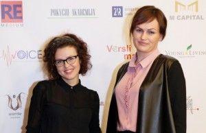 Aliona Bogdanova ir Aušrelė Leonova