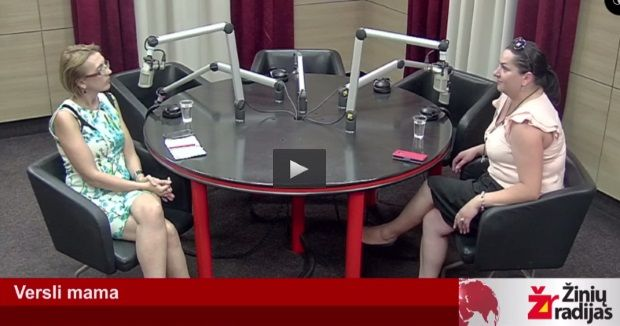 Versli mama Žinių radijuje