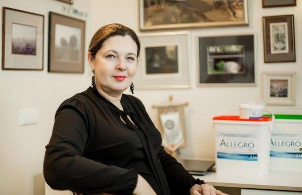 Rubina Haapamaki Allegro versli mama