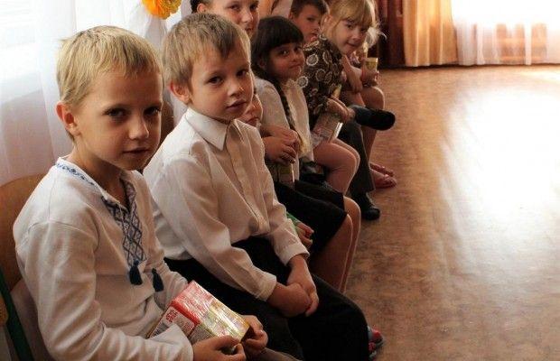 ukrainos vaikai