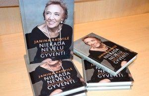 Janina Radvile_knygos