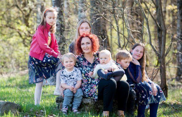 Jurgita Pocienė su vaikais_versli mama