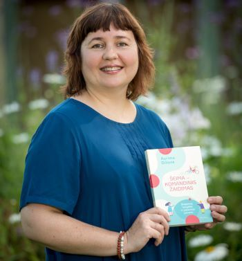 Aurima Dilienė knyga versli mama