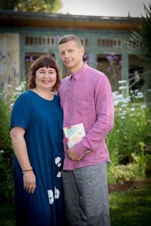 Aurima Dilienė su vyru _versli mama