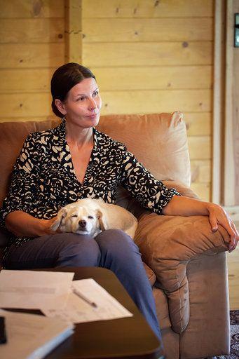 Vidmantė su šuniuku versli mama