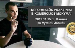 Vytautas Jonušas mokymai versli mama