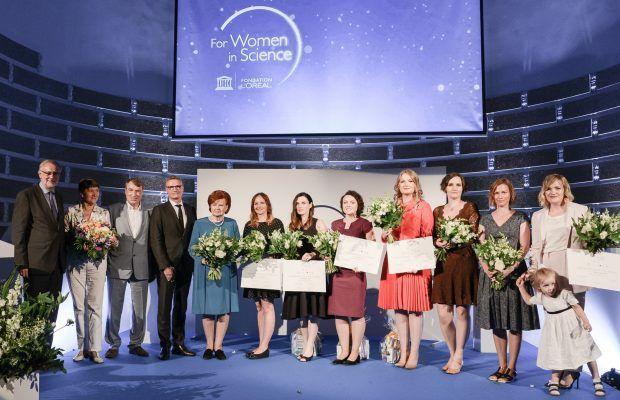 Loreal_BalticForWomeninScienceCeremony_versli mama