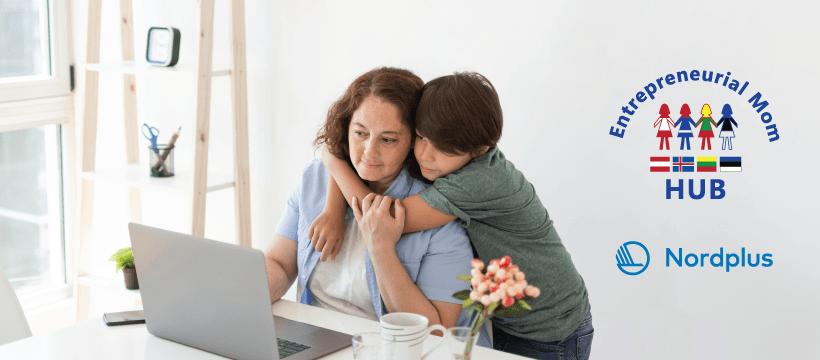 Entrepreneurial Mom HUB_versli mama