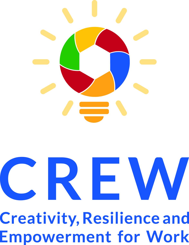 CREW Erasmus+ logotipas
